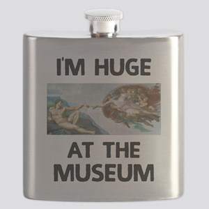 Huge at the Museum Flask
