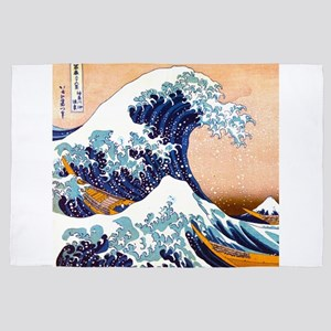 the great wave 4' x 6' Rug