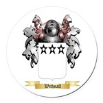 Withnall Round Car Magnet