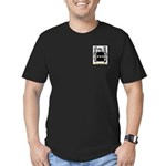 Withers Men's Fitted T-Shirt (dark)
