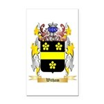 Witham Rectangle Car Magnet