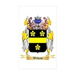 Witham Sticker (Rectangle 50 pk)