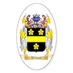 Witham Sticker (Oval 50 pk)