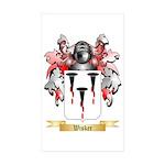 Wisker Sticker (Rectangle 50 pk)