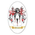 Wisker Sticker (Oval)