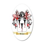 Wisker 20x12 Oval Wall Decal