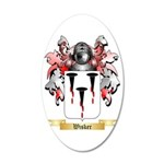 Wisker 35x21 Oval Wall Decal