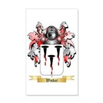 Wisker 35x21 Wall Decal