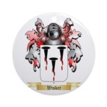 Wisker Round Ornament