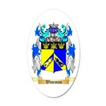 Wiseman Oval Car Magnet
