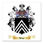 Wise Square Car Magnet 3