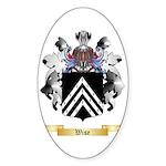 Wise Sticker (Oval)