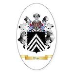 Wise Sticker (Oval 10 pk)
