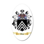 Wise 35x21 Oval Wall Decal