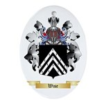 Wise Oval Ornament