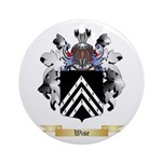 Wise Round Ornament