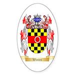 Winter Sticker (Oval 50 pk)