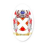 Winser Oval Car Magnet