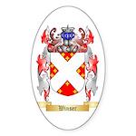 Winser Sticker (Oval 50 pk)