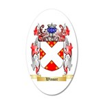 Winser 20x12 Oval Wall Decal