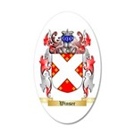 Winser 35x21 Oval Wall Decal