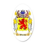 Winrow Oval Car Magnet