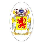 Winrow Sticker (Oval 10 pk)