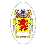 Winrow Sticker (Oval 50 pk)