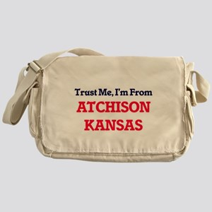 Trust Me, I'm from Atchison Kansas Messenger Bag