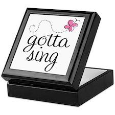Gotta Sing Keepsake Box