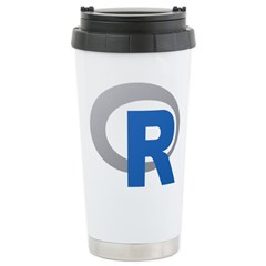 R Programming Language Logo New Travel Mug