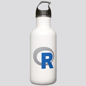 R Programming Language Logo New Water Bottle