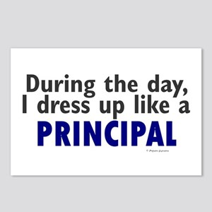 Dress Up Like A Principal Postcards (Package of 8)