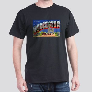 Worcester Massachusetts Greetings (Front) T-Shirt