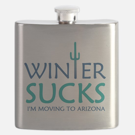 Cute Winter Flask