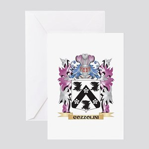 Cozzolini Coat of Arms (Family Cres Greeting Cards