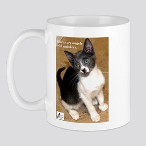 Kittens are angels with whisk Mug