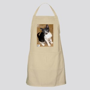 Kittens are angels with whisk BBQ Apron