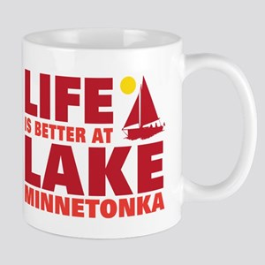 Life is Better At Lake Minnetonka Mugs