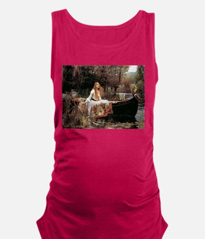 The Lady Of Shallot - 1- 18x13. Maternity Tank Top