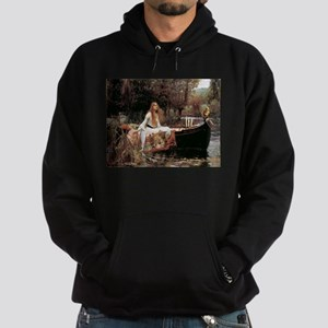 The Lady Of Shallot - 1- 18x13.693 Hoodie (dark)