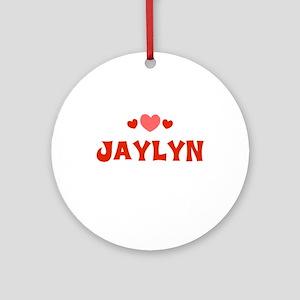 Jaylyn Ornament (Round)