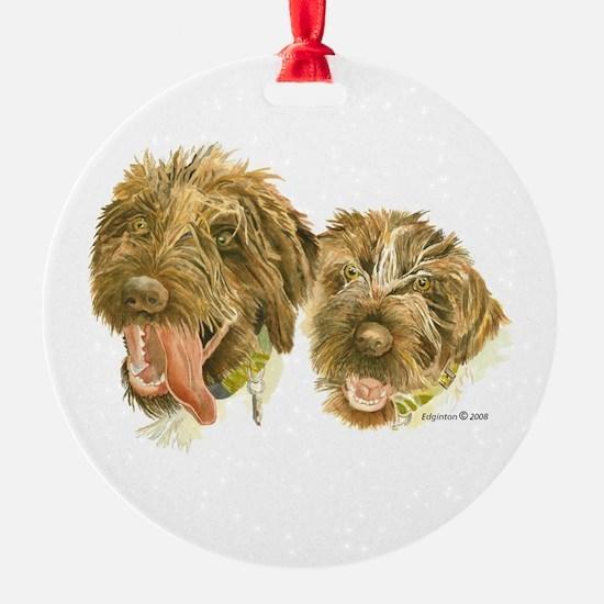 Two Griffs Ornament