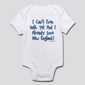 Can't Walk Already Love New E Infant Bodysuit