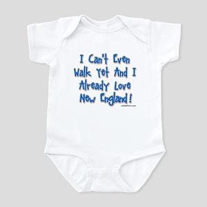 Can't Walk Already Love New E Infant Bodysuit