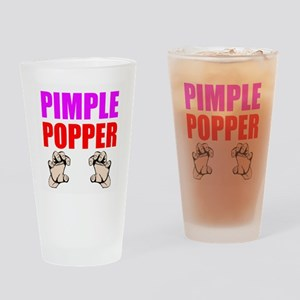 Pimple Popper Drinking Glass