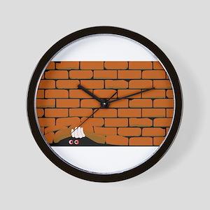Lifting The Wall Wall Clock
