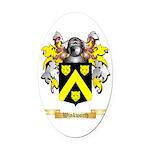 Winkworth Oval Car Magnet