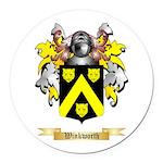 Winkworth Round Car Magnet