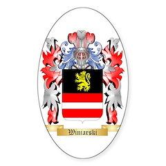 Winiarski Sticker (Oval 50 pk)
